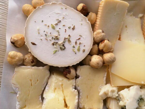 Tabla de 5 quesos franceses